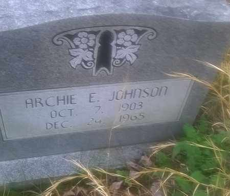 JOHNSON, ARCIE - Fayette County, West Virginia | ARCIE JOHNSON - West Virginia Gravestone Photos