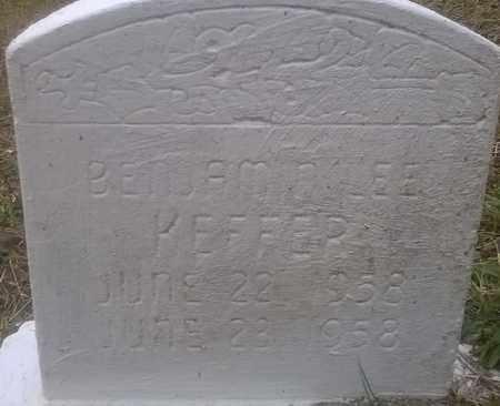 KEFFER, BENJAMIN - Fayette County, West Virginia | BENJAMIN KEFFER - West Virginia Gravestone Photos