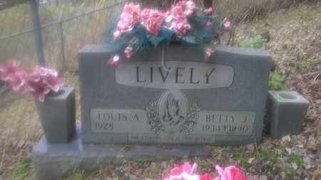 LIVELY, BETTY - Fayette County, West Virginia | BETTY LIVELY - West Virginia Gravestone Photos