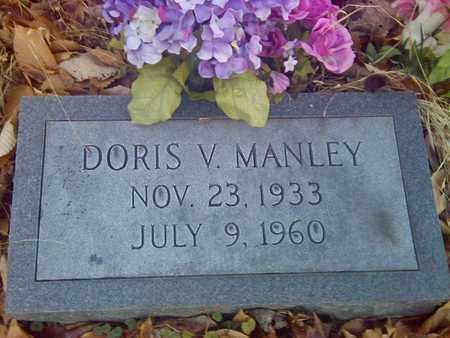 MANLEY, DORIS V - Fayette County, West Virginia | DORIS V MANLEY - West Virginia Gravestone Photos