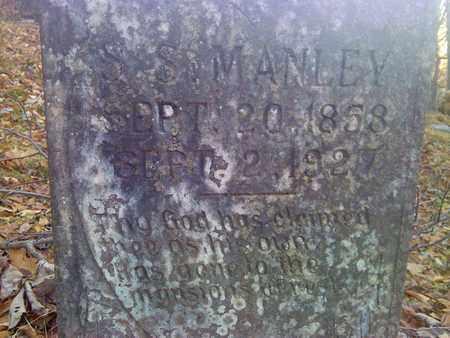 MANLEY, S.S. - Fayette County, West Virginia   S.S. MANLEY - West Virginia Gravestone Photos