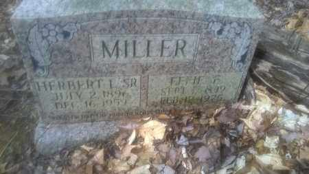 MILLER, EFFIE - Fayette County, West Virginia   EFFIE MILLER - West Virginia Gravestone Photos