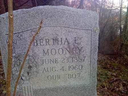 MOONEY, BERTHA L - Fayette County, West Virginia | BERTHA L MOONEY - West Virginia Gravestone Photos