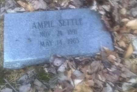 SETTLE, AMPIE - Fayette County, West Virginia | AMPIE SETTLE - West Virginia Gravestone Photos