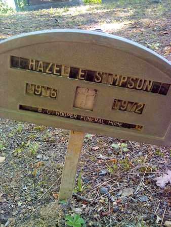 SIMPSON, HAZEL - Fayette County, West Virginia | HAZEL SIMPSON - West Virginia Gravestone Photos