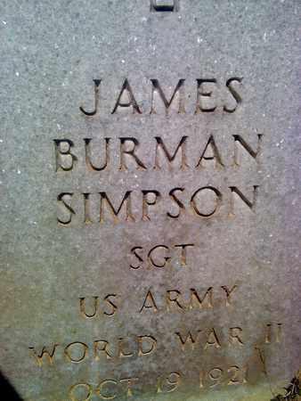 SIMPSON (VETERAN WWII), JAMES - Fayette County, West Virginia | JAMES SIMPSON (VETERAN WWII) - West Virginia Gravestone Photos
