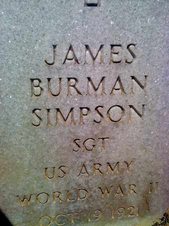 SIMPSON (VETERAN WWII), JAMES - Fayette County, West Virginia | JAMES SIMPSON (VETERAN WWII) - West Virginia Gravestone Photos