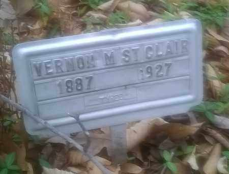 ST CLAIR, VERNON - Fayette County, West Virginia   VERNON ST CLAIR - West Virginia Gravestone Photos