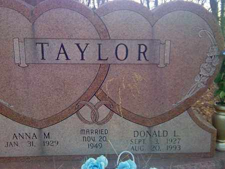 TAYLOR, DONALD - Fayette County, West Virginia | DONALD TAYLOR - West Virginia Gravestone Photos