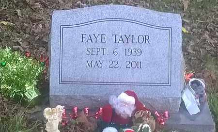TAYLOR, FAYE - Fayette County, West Virginia | FAYE TAYLOR - West Virginia Gravestone Photos