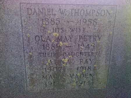 THOMPSON, LAUNA FAY - Fayette County, West Virginia   LAUNA FAY THOMPSON - West Virginia Gravestone Photos