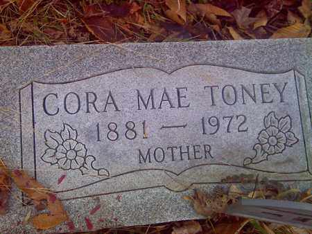 TONEY, CORA - Fayette County, West Virginia | CORA TONEY - West Virginia Gravestone Photos