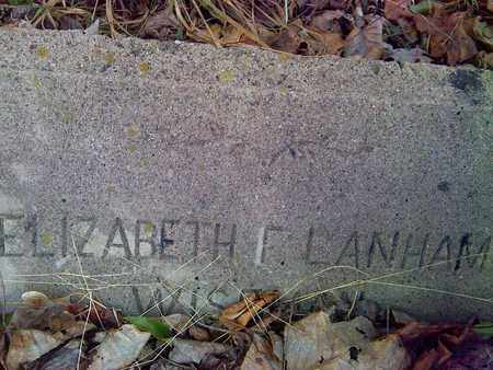 LANHAM WISEMAN, ELIZABETH F - Fayette County, West Virginia | ELIZABETH F LANHAM WISEMAN - West Virginia Gravestone Photos