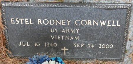 CORNWELL (VETERAN VIET), ESTEL RODNEY (NEW) - Greenbrier County, West Virginia   ESTEL RODNEY (NEW) CORNWELL (VETERAN VIET) - West Virginia Gravestone Photos