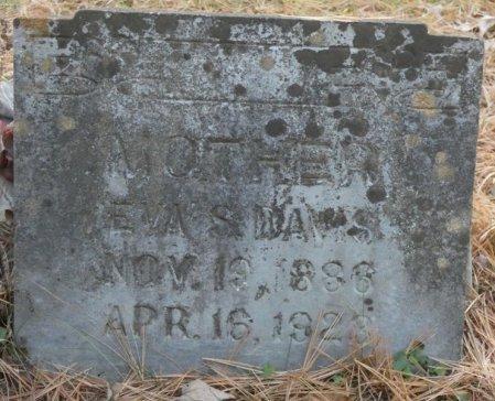 BENNETT DAVIS, EVA SUE - Greenbrier County, West Virginia | EVA SUE BENNETT DAVIS - West Virginia Gravestone Photos