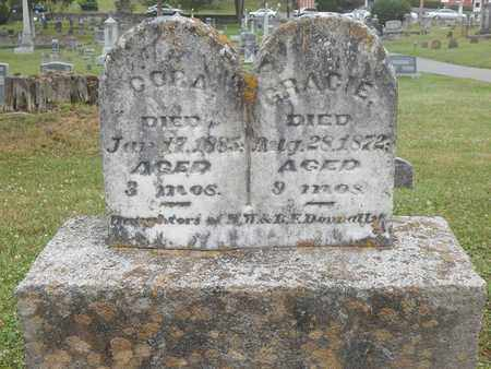 DONNALLY, CORA - Greenbrier County, West Virginia | CORA DONNALLY - West Virginia Gravestone Photos