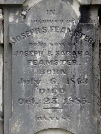 FEAMSTER (CLOSEUP), JOSEPH S - Greenbrier County, West Virginia | JOSEPH S FEAMSTER (CLOSEUP) - West Virginia Gravestone Photos