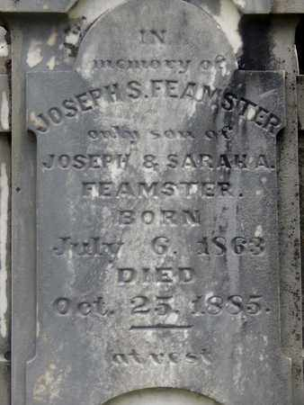 FEAMSTER (CLOSEUP), JOSEPH S - Greenbrier County, West Virginia | JOSEPH S FEAMSTER (CLOSEUP) - West Virginia Gravestone Photos