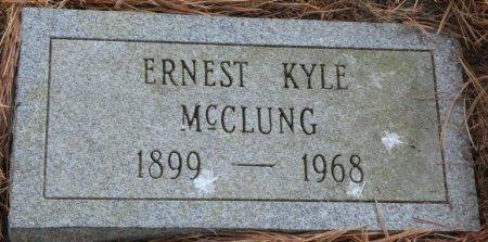 MCCLUNG, ERNEST KYLE - Greenbrier County, West Virginia | ERNEST KYLE MCCLUNG - West Virginia Gravestone Photos