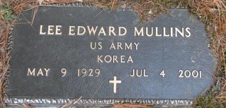 MULLINS (VETERAN KOR), LEE EDWARD (NEW) - Greenbrier County, West Virginia | LEE EDWARD (NEW) MULLINS (VETERAN KOR) - West Virginia Gravestone Photos
