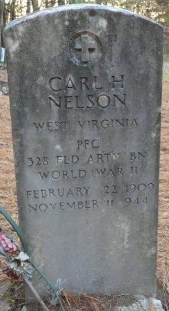 NELSON (VETERAN WWII), CARL H (NEW) - Greenbrier County, West Virginia | CARL H (NEW) NELSON (VETERAN WWII) - West Virginia Gravestone Photos
