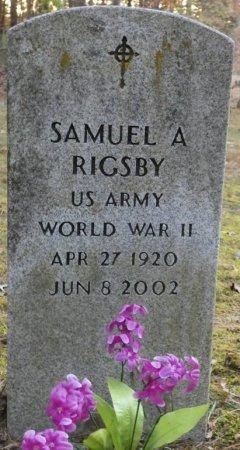 RIGSBY (VETERAN WWII), SAMUEL A (NEW) - Greenbrier County, West Virginia   SAMUEL A (NEW) RIGSBY (VETERAN WWII) - West Virginia Gravestone Photos