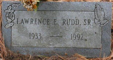 RUDD, SR., LAWRENCE EDMOND - Greenbrier County, West Virginia | LAWRENCE EDMOND RUDD, SR. - West Virginia Gravestone Photos
