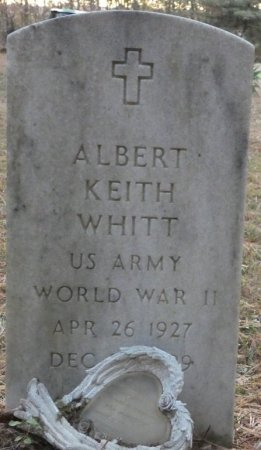 WHITT (VETERAN WWII), ALBERT KEITH (NEW) - Greenbrier County, West Virginia | ALBERT KEITH (NEW) WHITT (VETERAN WWII) - West Virginia Gravestone Photos