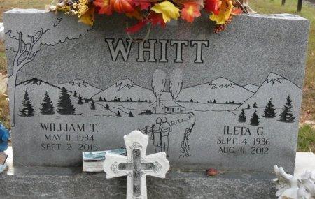 WHITT, ILETA GREY - Greenbrier County, West Virginia | ILETA GREY WHITT - West Virginia Gravestone Photos