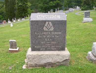 MONROE, MARGARET E - Hampshire County, West Virginia | MARGARET E MONROE - West Virginia Gravestone Photos