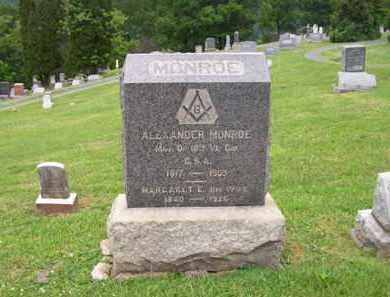 MONROE (VETERAN CSA), ALEXANDER - Hampshire County, West Virginia | ALEXANDER MONROE (VETERAN CSA) - West Virginia Gravestone Photos