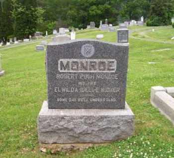 KIDNER MONROE, ELWILDA IDELLE - Hampshire County, West Virginia   ELWILDA IDELLE KIDNER MONROE - West Virginia Gravestone Photos