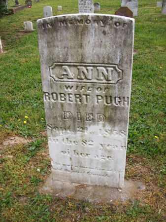 MCDONALD PUGH, ANN - Hampshire County, West Virginia   ANN MCDONALD PUGH - West Virginia Gravestone Photos