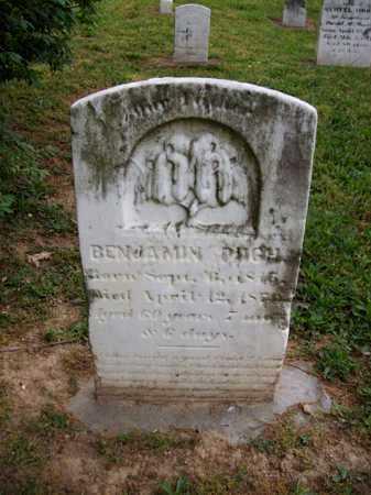 PUGH, BENJAMIN - Hampshire County, West Virginia | BENJAMIN PUGH - West Virginia Gravestone Photos