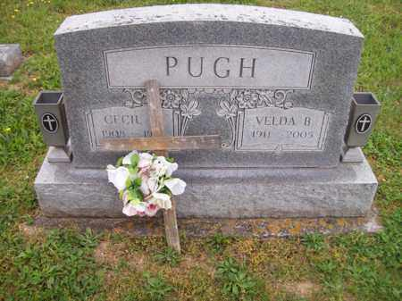 PUGH, VELDA B - Hampshire County, West Virginia | VELDA B PUGH - West Virginia Gravestone Photos