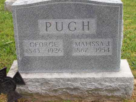 PUGH, MALISSA J. - Hampshire County, West Virginia | MALISSA J. PUGH - West Virginia Gravestone Photos