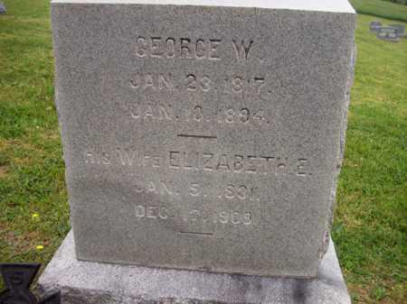 NIXON, GEORGE W. - Hampshire County, West Virginia   GEORGE W. NIXON - West Virginia Gravestone Photos