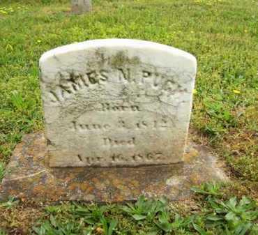 PUGH, JAMES N. - Hampshire County, West Virginia | JAMES N. PUGH - West Virginia Gravestone Photos