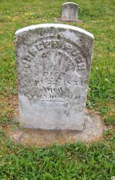 PUGH, JOSEPH - Hampshire County, West Virginia | JOSEPH PUGH - West Virginia Gravestone Photos