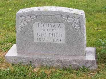 PUGH, LOUISA A. - Hampshire County, West Virginia   LOUISA A. PUGH - West Virginia Gravestone Photos