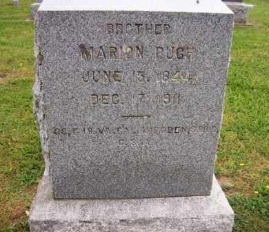 PUGH (VETERAN CSA), MARION - Hampshire County, West Virginia | MARION PUGH (VETERAN CSA) - West Virginia Gravestone Photos