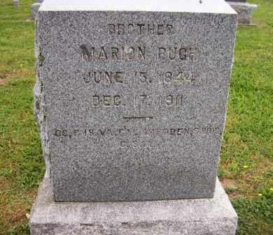 PUGH (VETERAN CSA), MARION - Hampshire County, West Virginia | MARION PUGH (VETERAN CSA) - West Virginia Gravestone Photos