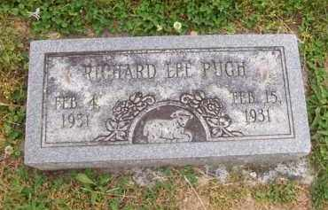 PUGH, RICHARD LEE - Hampshire County, West Virginia | RICHARD LEE PUGH - West Virginia Gravestone Photos