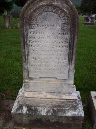 ALLEN PUGH-CLAYTON, SUSAN ELIZABETH - Hampshire County, West Virginia   SUSAN ELIZABETH ALLEN PUGH-CLAYTON - West Virginia Gravestone Photos