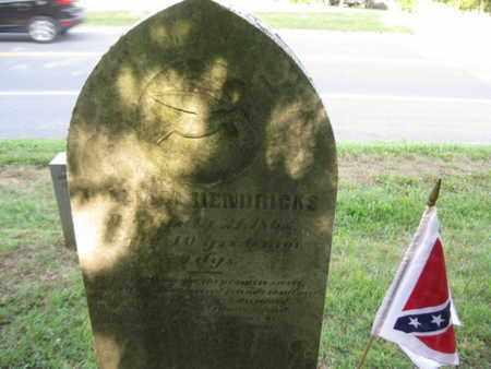 HENDRICKS (VETERAN CSA), WILLIAM - Jefferson County, West Virginia | WILLIAM HENDRICKS (VETERAN CSA) - West Virginia Gravestone Photos