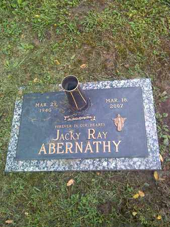 ABERNATHY, JACKY RAY - Kanawha County, West Virginia | JACKY RAY ABERNATHY - West Virginia Gravestone Photos