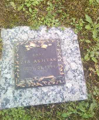 AKHTAR, ZIA - Kanawha County, West Virginia | ZIA AKHTAR - West Virginia Gravestone Photos