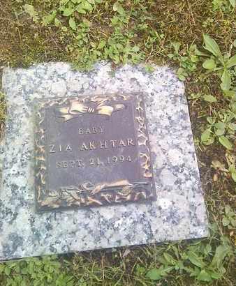 AKHTAR, ZIA - Kanawha County, West Virginia   ZIA AKHTAR - West Virginia Gravestone Photos