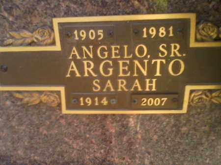 ARGENTO, SR., ANGELO - Kanawha County, West Virginia | ANGELO ARGENTO, SR. - West Virginia Gravestone Photos