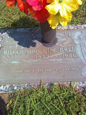 WOOLWINE BALL, AILEEN - Kanawha County, West Virginia | AILEEN WOOLWINE BALL - West Virginia Gravestone Photos